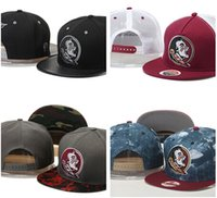 Wholesale Florida State Seminoles FSU Caps Snapback NCAA College Football Hats Adjustable Cap New Style