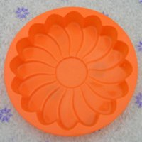 Wholesale Premium FDA Silicone Shallow Flower Inch Bakeware Microwave Pan Silicone Cake Muffin Bread Molds Chocolate Mold Jelly Candy Silicone Tools