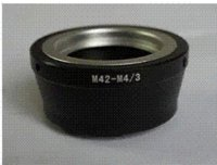 Wholesale Lens Adapter Ring M42 M4 allow M42 Lens adapt to Micro M4 Mount like GF3 G3 E P3 E P1 E P2