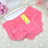 bamboo - Ms factory direct solid bamboo fiber underwear waist lace underwear sexy female hip breathable