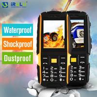 Wholesale Original NO A9 Outdoor Mobile Phone Smartphone Rugged phones quot Dual SIM Waterproof Shockproof mAh SOS Flashlight New