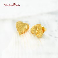 Wholesale WesternRain Latest Popular Copper Earrings K Gold Plated Asia Elegant Ladies Fashion Earrings E402