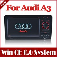 Cheap 2-Din Car DVD Player for Audi A3   S3 with GPS Navigation Stereo Bluetooth Radio TV USB AUX Map Auto Audio Video Multimedia