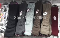 Wholesale Solid knit Fingerless Gloves Ballet Dance glove long Arm Warmers mitten Fashion mixed pairs