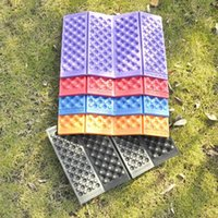 Wholesale Outdoor Camping Folding Pads XPE Portable Waterproof Cushion Mats Picnic Mats MA0095 smileseller
