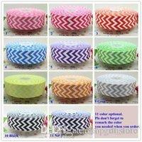 chevron ribbon - 1 inch chevron print colors optional printed grosgrain ribbon hairbow diy party decoration OEM mm