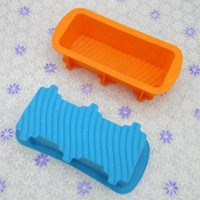 Wholesale FDA SGS Silicone Loaf Bread Mould Bakery Sugar Jelly Chocolate Mould For Home Baker Sandwich Mould Toast Bread