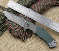 Wholesale New Arrival Strider Knives Folding Titanium Blade with C Steel Best Folding Knives G10 Handle Camping Survival Knife EDC DH006