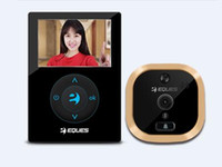 battery doorbells - NEW2 TFTEques R21p Digital Peephole Viewer Visual Cat Eye Doorbell HD door Camera Door Camera Motion Detect mAh li batteries