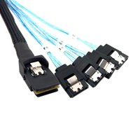 mini sata cable - SFF Mini SAS to SATA angled cable Mini SAS to Angled SATA Gbps M