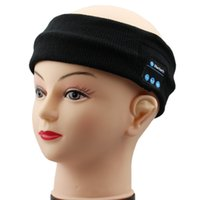 acrylic beanie - Bluetooth Sports Hats Caps Bluetooth Headband Call Handsfree Music Player for Running Jogging Skiing Skating with Retail Packaging