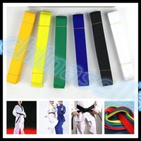 Wholesale free ship M martial arts belt Karate Taekwondo Judo Jiu jitsu tae kwon do belt Karate Taekwondo tape