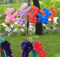 Long best toy packages - Magic Balloon Party decoration Kids toys Best price Customized package color mixed twisting long balloon _A
