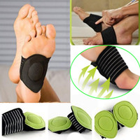 Wholesale Feet Care Cushioned Arch Supports Sole Angel Arch Wraps New Strutz Foot Arch Support Plantar Fasciitis Heel Pain Aid Feet