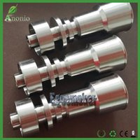 Wholesale Universal Domeless Titanium Nail mm mm Titanium nail domeless Direct inject design fits both mm mm Female glass joints glass Nail