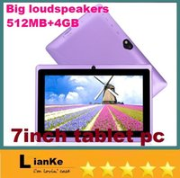 table pc - 7 inch Q88 HDMI Dual Core Android Tablet PC Big Speaker M RAM G ROM Dual Cameras with Flash Big Horn Android quot Table PC