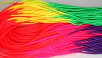 Wholesale 328Ft m x15pcs rainbow paracord Paracord colorful paracord Parachute Cord Lanyard Rope Mil Spec Type III strand