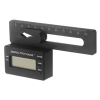 Wholesale LCD Digital Pitch Gauge For Align TREX Flybarless Helicopter RC Airplane Accessory