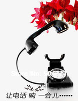 antique style telephone - Pieces USB Table Lamp Retro Telephone Design Table Lamp with Alarm Clock