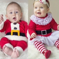 Cheap Baby Christmas clothing Best Baby Xmas outfits