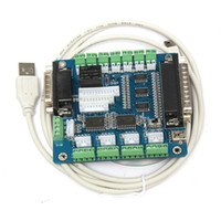 Cheap 2015 Brand New Top Selling CNC 5 Axis Breakout Board Interface Adapter For Stepper Motor Driver Mill Input 58956
