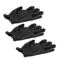 latex exam gloves - SZS Hot Nitrile Exam Gloves Piercing Powder Latex Black with Box S