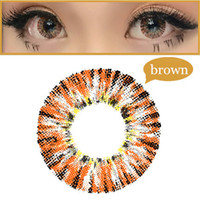Wholesale Super Color Contact Lenses colorful Eys Contacts Big Eye Cosmetic Colored Contacts Lenses