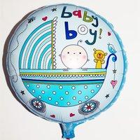 baby gender - trade new helium balloon birthday party decorations balloons aluminum round baby gender