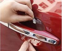 automotive protection film - 8PCS car handle protection film car exterior automotive accessories car Stickers