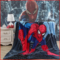 Wholesale 2015 Flannel Blanket Colors CM Spiderman Blankets Princess Blankets Pooh Barbie Frozen Blanket Minions Cinderella Thomas Blankets