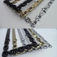 Wholesale Personalized black market chain silver gold chain license plate frame license frame license plate frame