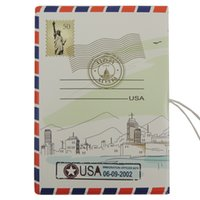 abroad study - les America wind D three dimensional embossed passport sets passport holder study abroad travel essential document sets