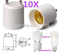 Wholesale GU24 to E27 E26 LED Light Bulb Base GU24 to E26 E27 Lamp Holder Socket Adapter GU24 E26 E27 GU24 E27E26 Converter