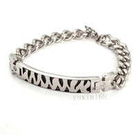 best streaks - The best gift for titanium steel personality streaks couple bracelet with allergies NSB287