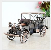 antique ford - 24 alloy car models Ford coupe vintage car two color mixing hair Q84