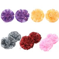 Wholesale 1pc Rose Flower Tie Backs Holdbacks Holders For Voile Net Curtain Panels Top Quality