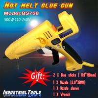 Cheap Wholesale 400W digital display thermostat US plug hot melt glue gun,industrial glue gun, 1 pcs lot, free shipping