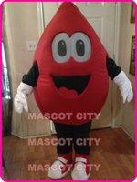 athletics activities - NEW BLOOD DROP MASCOT COSTUME Adult Blood Donation Activities Theme Cartoon Character Drop Mascotte Advertising Fancy Dress Kits