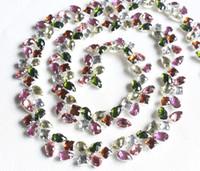 acryl coating - yard cm purple yellow peach color acryl rhinestone silver chain yard trims garment coat decorative accessory