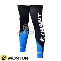 air ride pro - New Giant Black Bike RACING Team PRO Cycling Leg Warmers Cycling Legsleeves Bike Riding Breathing air Super elastic