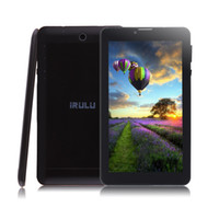 7 inch phablet - New Arrival iRULU inch Tablet PC G Phablet Quadcore MTK8312 Android4 Tablets x600 Bluetooth GPS Phablets Dual core quot Tablet PC