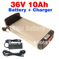 Wholesale Electric bicycle V Ah battery V A charger New and retail E bike lithium battery