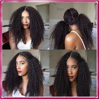auburn curly wigs - Top Quality Virgin Brazilian hair Silk Base FullLace Wig Grade Virgin Human Hair Lace Wigs for
