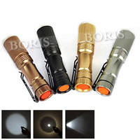 Wholesale 4 Color LM Zoomable LED Flashlight Mode Torch light xAAor linternas lampe torche