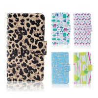 beautiful love bird - Pop Beautiful Leopard Love Heart fish Dairy Birds Lovely PU leather nature cover case LG Optimus L7 P705 P700