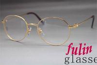 achat en gros de lunettes directes d'usine-Vente directe d'usine 6410163 lunettes rondes Lunettes de vue exquises de marque Taille de cadre: 55-20-140 millimètres lunettes de style de concepteur