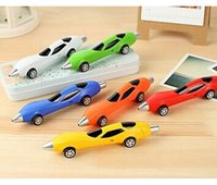 Wholesale 6 Creative Design Car Shaped Ballpoint Pen Children Student Gift Stationery