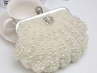 Wholesale Shell pearl fashion handbag chain shoulder hand inclined shoulder bag latest new bridesmaid wedding bag package