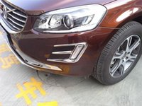 Wholesale Exterior Accessories Chromium Styling Auto chrome accessories front fog light trim for volve XC60 ABS chrome