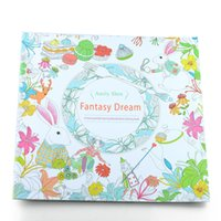 Wholesale 500pcs PrettyBaby Secret Garden Enchanted Forest animal kingdom Art Inky Coloring Book Adult Relieve Stress Painting Book pages